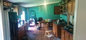 Fire Damage Restoration Of Kitchen