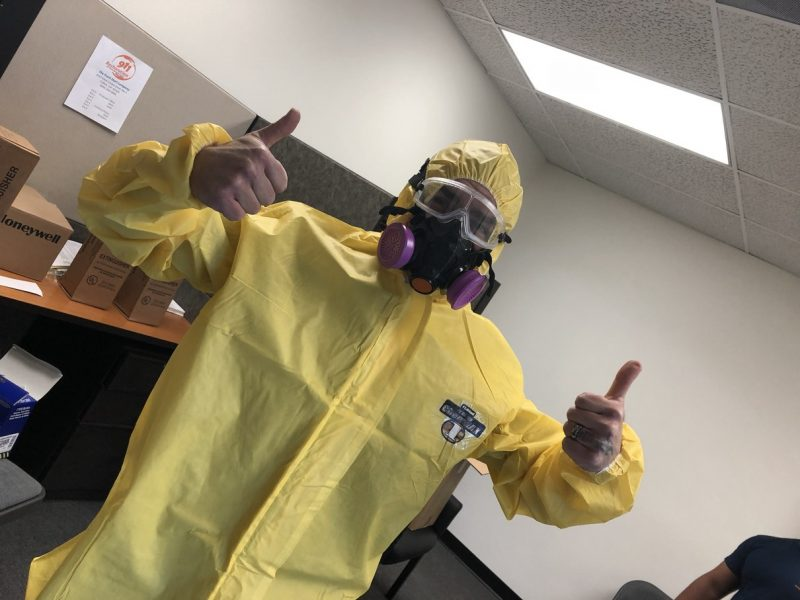 Hazmat-suit-water-damage-restoration-repair