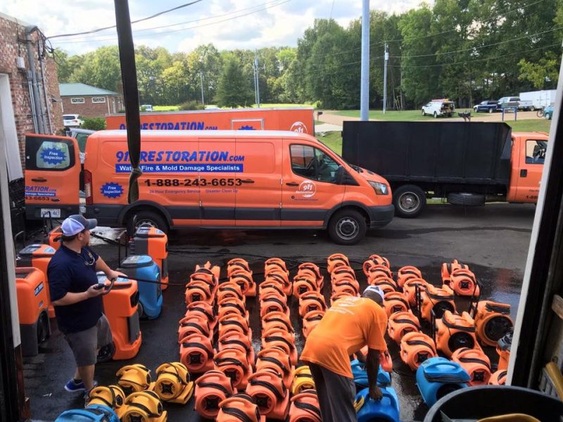 Water Damage and Mold Removal Equipment