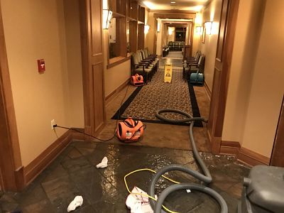 Flood Cleanup in a Commercial Property